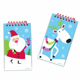 Joyful Snowman Christmas Notepads pk 12