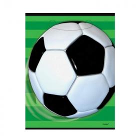 3D Soccer Party Bags, pk8