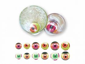 Eyeball Tumbler Stickers pk12