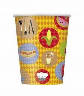 BBQ Party Cups 8pk