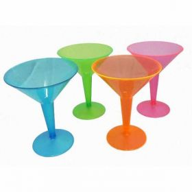 Neon Martini Glasses