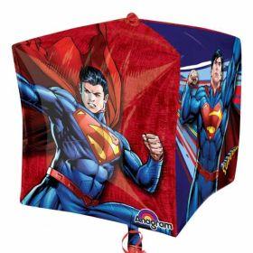 Superman Cubez Foil Balloon 15''