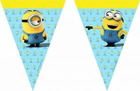 Lovely Minions Flag Banner 2.3m