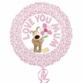 Love You Mum Boofle Foil Balloon