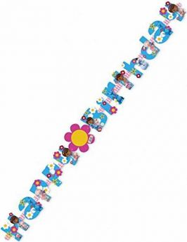 Doc McStuffins Add an Age Birthday Letter Banner