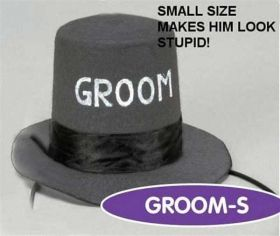 Mini Groom Top Hat