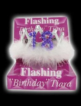 Flashing 18th Tiara