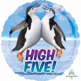 Avanti Penguins High Five Standard HX Foil Balloons