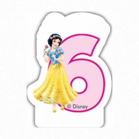 Disney Princess Party Candle No 6