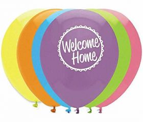 Welcome Home Latex Balloons, pk6