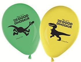The Good Dinosaur Balloons pk8