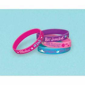 Shimmer & Shine Rubber Bracelets pk6