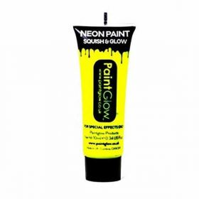 Neon UV Face & Body Paint - Neon Yellow