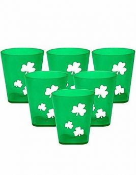 Irish Shot Glasses pk6