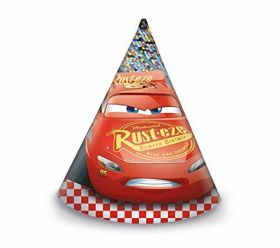 Cars 3 Cone Hats pk6