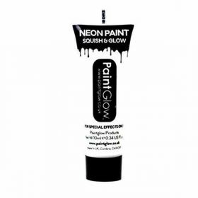 Neon UV Face & Body Paint - White