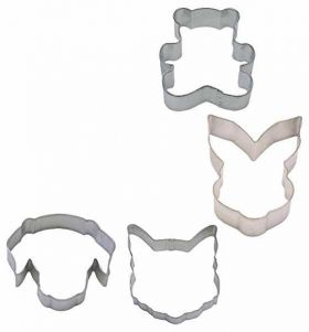 Animal Chums Sandwich Cutters pk4