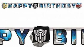 Transformers Party Letter Banner 1.8m