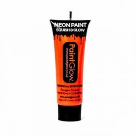 Neon UV Face & Body Paint - Neon Orange