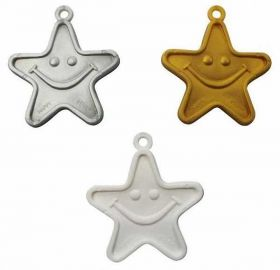 Balloon Weights Silver, Gold And White Stars Mix, 8g