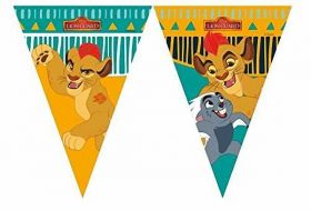 Lion Guard Triangle Plastic Flag Banner