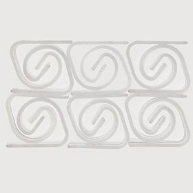 Plastic tablecover Clips, pk24