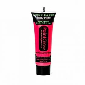 Glow in the Dark Face & Body Paint - Neon Red