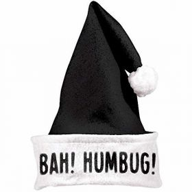 Santa Black Humbug Hat