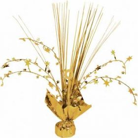Gold Foil Spray Centrepiece