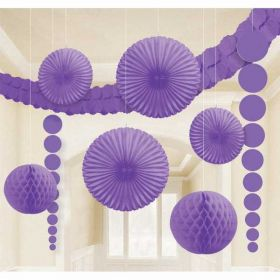 Purple Room Decoration Kit