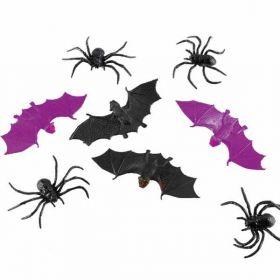 Spiders & Bats Favours pk10