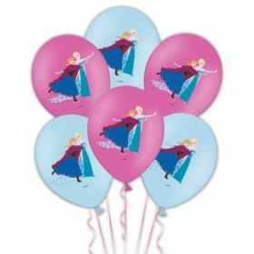 Disney Frozen Latex Balloons pk6