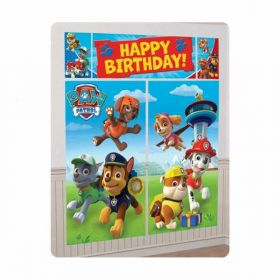 Paw Patrol Scene Setters Wall Decorating Kit