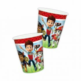 Paw Patrol Paper Party Cups pk8