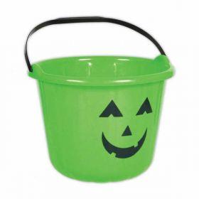 Green Pumpkin Bucket