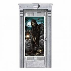 Cemetery Door Decoration