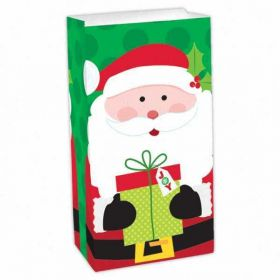 Christmas Santa Paper Treat Bag