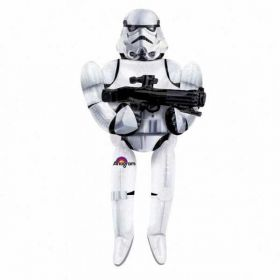 Star Wars Storm Trooper AirWalkers Foil Balloon 70''