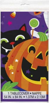 Happy Halloween Party Tablecover