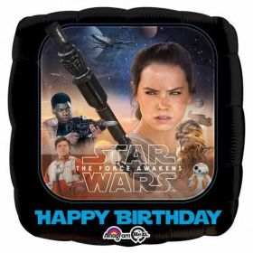 Star Wars Episode VII Happy Birthday Foil Balloon 17''