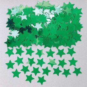 Stardust Green Metallic Confetti