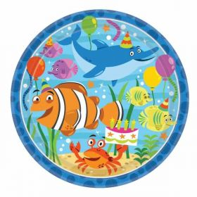 Ocean Buddies Paper Plates pk8