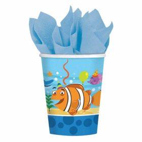 Ocean Buddies Paper Cups pk8
