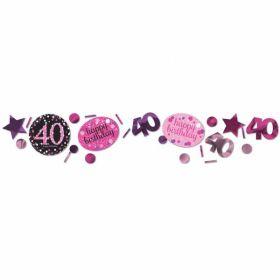 Age 40 Confetti