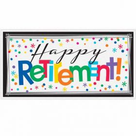 Happy Retirement Giant Sign Banner