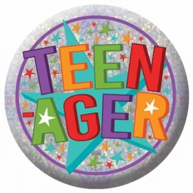 Teenager Holographic Badge