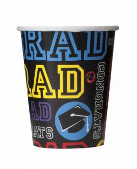 Graduation Party Cups pk8