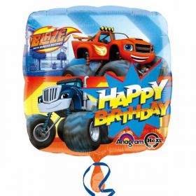 Blaze and the Monster Machines Happy Birthday Foil Balloon 18''