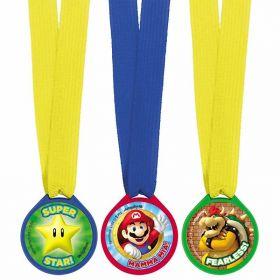 Super Mario Award Medals pk12