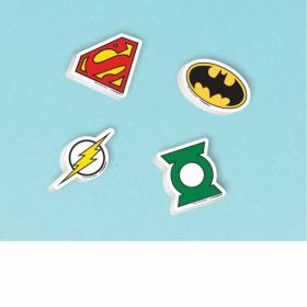 Justice League Erasers pk12